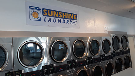 The Sunshine Laundry Laundromat